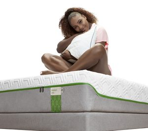 Tempur ficha a Serena Willians para promocionar sus productos