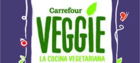 Carrefour lanza la marca Veggie