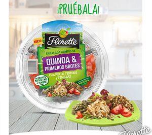 Florette introduce quinoa en sus ensaladas completas