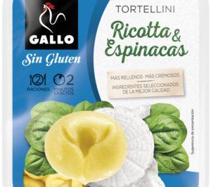 Gallo lanza las primeras referencias sin gluten en pasta fresca