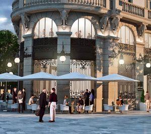 Definido el espacio de restauración en La Galería de Canalejas