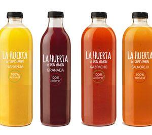 Huerta de Don Simón, los nuevos zumos y sopas frías de J. García Carrión