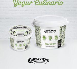 Quescrem lanza un yogur culinario para el canal profesional