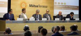 Grupo Mútua Terrassa presenta su nueva estructura y crece un 3,5%.