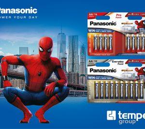 Pilas Panasonic lanza promoción con el estreno de Spider-Man: Homecoming