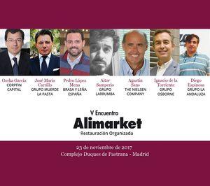 V Encuentro Alimarket Restauración Organizada: El cambio continuo