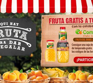 Eckes-Granini presenta la campaña Fruta para dar y regalar