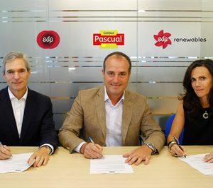 Calidad Pascual y EDP firman el primer PPA en España