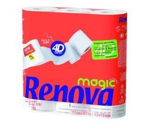 Renova amplía su producción de bobinas de papel y lanza Magic