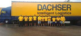 Un total de 29 vehículos de Dachser han colaborado en la operativa logística de la Vuelta