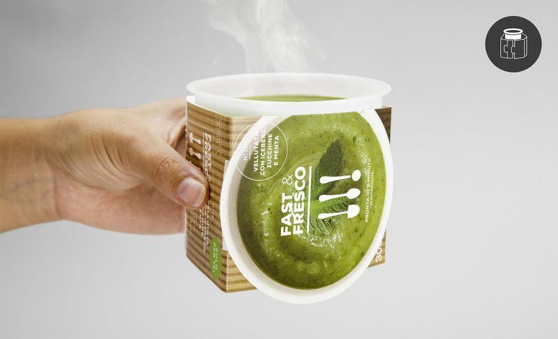 Fast&Fresco ofrece envases para evitar quemaduras
