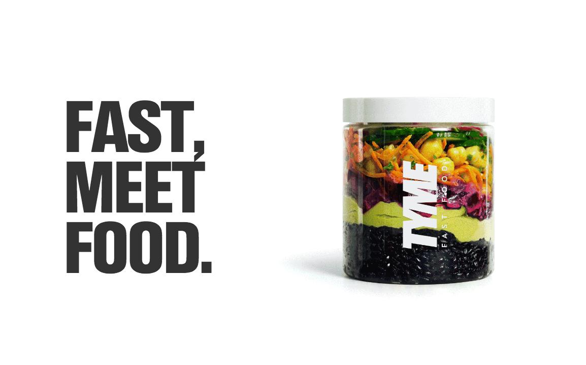 Comida saludable 'on the go' de Tyme Fast Food