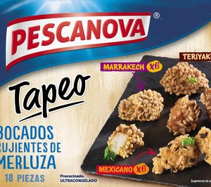 Pescanova profundiza en el snacking con nuevos lanzamientos