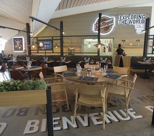 Areas inaugura Yandiola en el aeropuerto de Bilbao