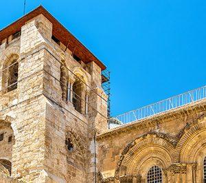 La Paloma participa en la restauración del Santo Sepulcro de Jerusalén