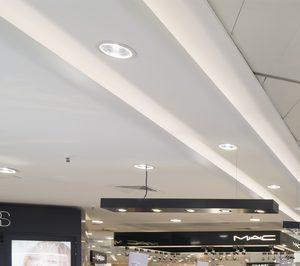 El Corte Ingles Moderniza Su Iluminacion Noticias De Alimentacion - Iluminacion-el-corte-ingles