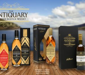 Central Hisúmer incorpora los whiskies The Antiquary