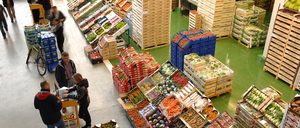La venta mayorista de frutas y hortalizas, en fase de expansión