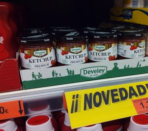 Develey crece en España tras su entrada en Mercadona
