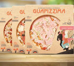 Marevendis desembarca en pizzas refrigeradas con 'Guapizzima'