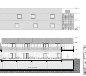El explotador de un albergue en Muxía construye un hotel en Finisterre