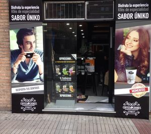 Coffee & Cookies potencia su presencia a pie de calle