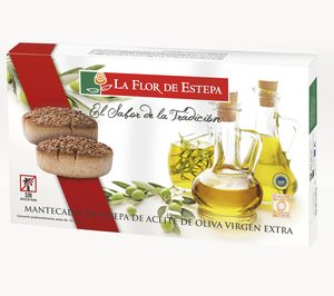 La Flor de Estepa, más aceite de oliva y menos de palma