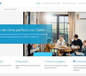 Daikin estrena página web corporativa