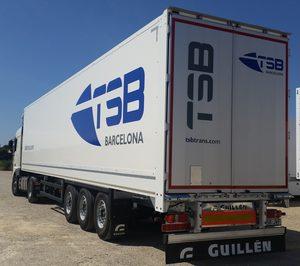 TSB amplía flota con 10 serirremolques de Guillén Group