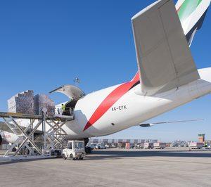 La carga aérea mantiene su despegue por encima del 15%