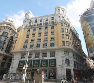 El hotel de Cristiano Ronaldo en la Gran Vía de Madrid toma forma