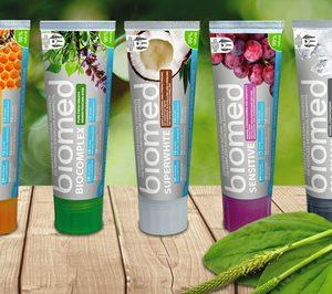 La marca de higiene bucal Biomed llegará a gran consumo en sustitución de Splat