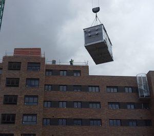 Los roof top de adisa en las viviendas de los viveros de for Viveros valladolid