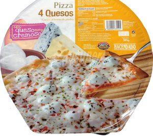 Tarradellas amplía su catálogo de pizzas congeladas para Mercadona