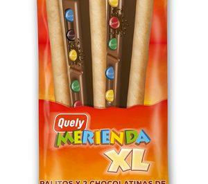 'Quely Merienda', en versión XL