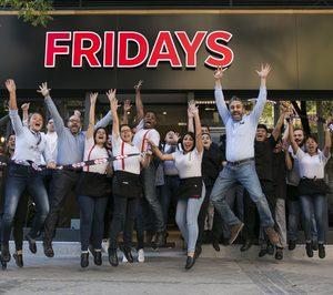 Fridays estrena imagen en su nuevo restaurante madrileño