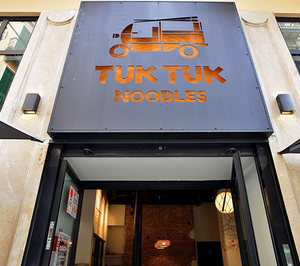 Tuk Tuk Noodles estrena en una provincia andaluza y relanza una segunda marca