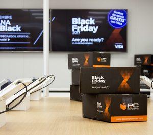 PcComponentes prevé más de 6,5 M de visitas en la semana del Black Friday