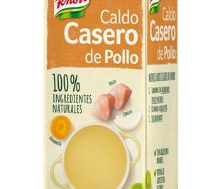 Knorr lanza caldos naturales y amplía la línea Pot