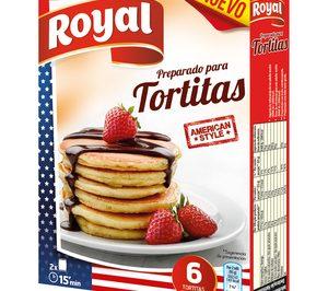 Tortitas, lo último de Royal