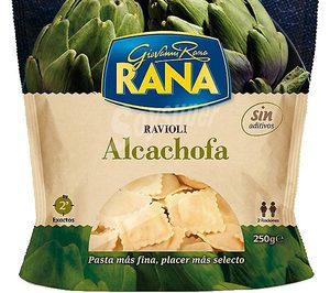 Rana sigue creciendo en la categoría de pasta fresca