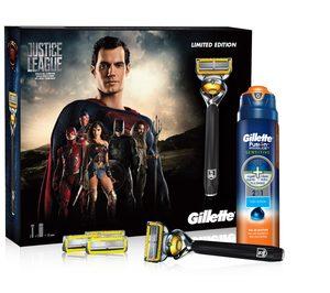 Gillette anuncia su colaboración con Liga de la Justicia