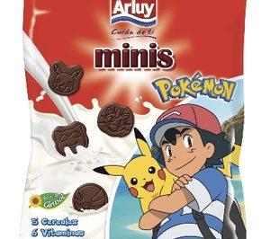 Arluy suma una licencia Pokemon para sus galletas