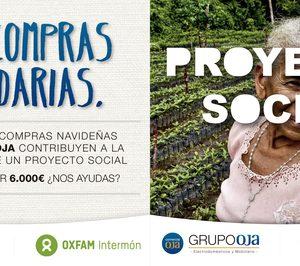 Comercial Oja inicia una campaña solidaria con OXFAM Intermón