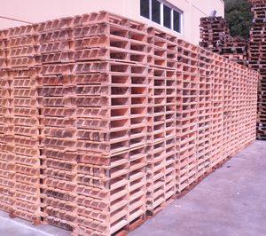 El uso de palés de madera creció un 3% en España