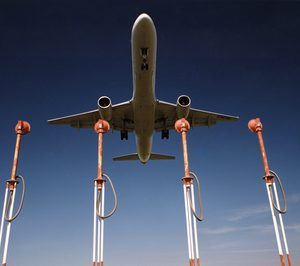La carga aérea sube un 15% en noviembre
