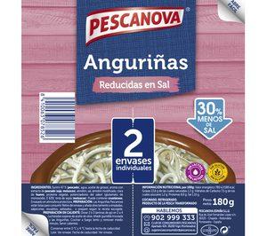 Pescanova lanza Anguriñas Reducidas en Sal