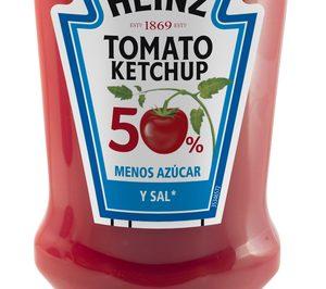 Heinz lanza un kétchup con menos sal y azúcar
