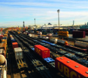 El transporte ferroviario cayó en 2016 lastrado por Renfe Mercancías
