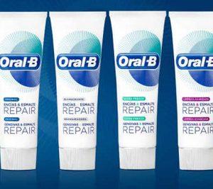 Oral-B lanza una línea reparadora y renueva su oferta infantil